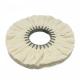 Canvas polishing disc M011 Molleton 250/20 mm