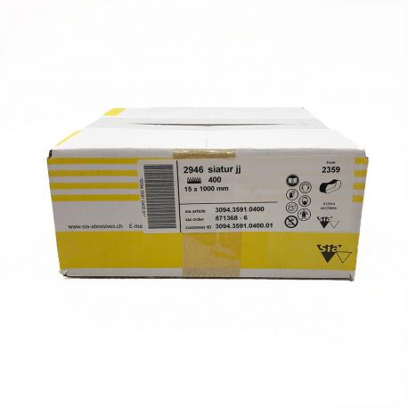 SIATUR 2946 nastri abrasivi P400 15x1000mm