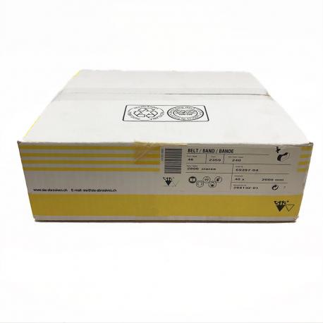 SIATUR 2946 bande abrasive P600 100x1500mm