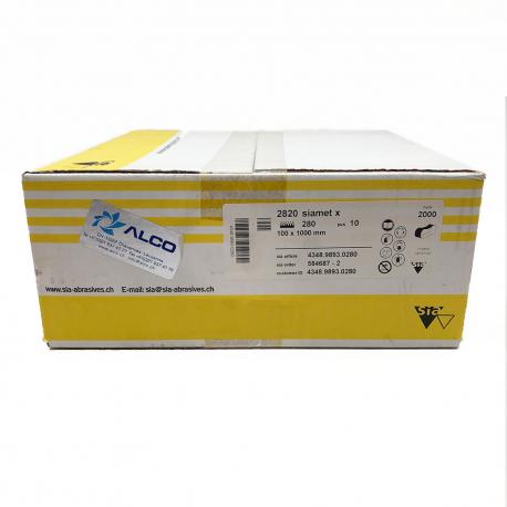 SIAMET 2820 Schleifband P280 100x1000mm