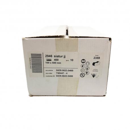 SIATUR 2946 abrasive belt P400 100x500 mm