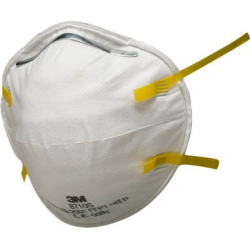 3M™ 8710SP - FFP1 Anti guscio maschera antipolvere 5 pce/box