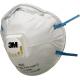 3M™ 8822 - FFP2 Anti guscio maschera antipolvere Classic Series con valvola CoolFlow™
