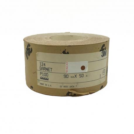 3M™ 124 Garnet rouleau P100 90mmx50m
