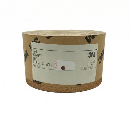 3M™ 124 Garnet rouleau P100 115mmx50m