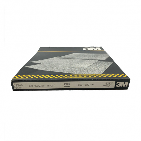 3M™ 02340 622 foglia TriMite™ P80 230x280mm