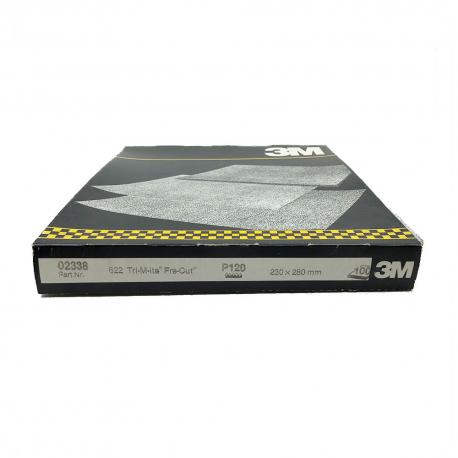 3M™ 02338 622 blatt TriMite™ P120 230x280mm
