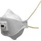 3M™ 9312+ Aura™ - FFP1 Masque antipoussière pliable 3 panneaux avec soupape Coolflow™