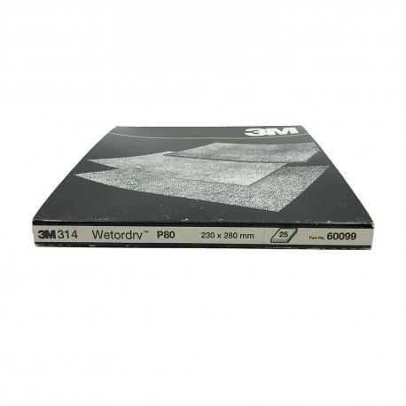 3M™ 60099 314 foglia P80 230x280mm