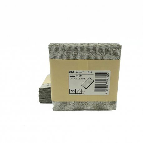 3M™ 618 dry paper P180 115x115mm