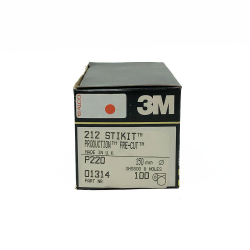 3M 60309 212 dischi StickIt P220 150mm 8 fori