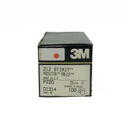 3M 60309 212 StickIt scheibe P220 150mm 8 loch