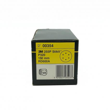 3M 00356 255P disque StickIt P320 150mm 6 trous