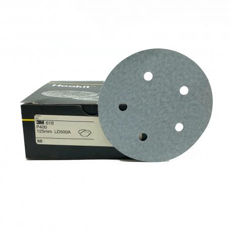 3M 618 dischi Hookit P400 125mm