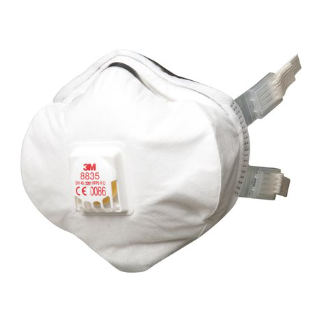 3M™ 8835 - FFP3 Anti dust shell mask Premium with valve CoolFlow™