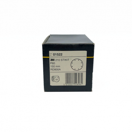 3M 01522 210 StickIt disc P60 150 mm 8 loch