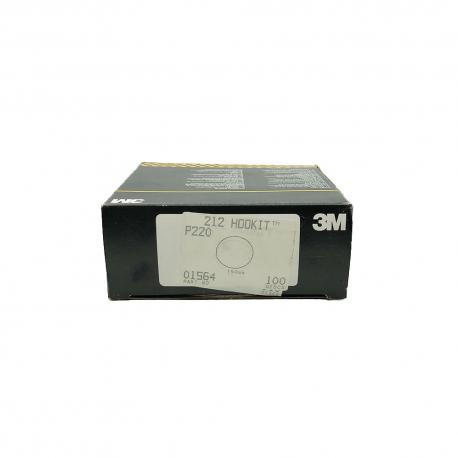 3M 01564 212 dischi HookIt P220 150mm