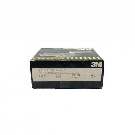 3M 01049 210 StickIt disc P40 150 mm 6 loch