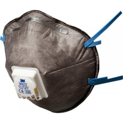 3M™ 9922 - FFP2 Anti dust mask with valve CoolFlow™