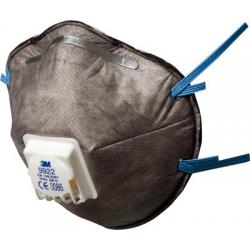 3M™ 9922 - FFP2 Masque antipoussière avec soupape Coolflow™ 10 pce/box