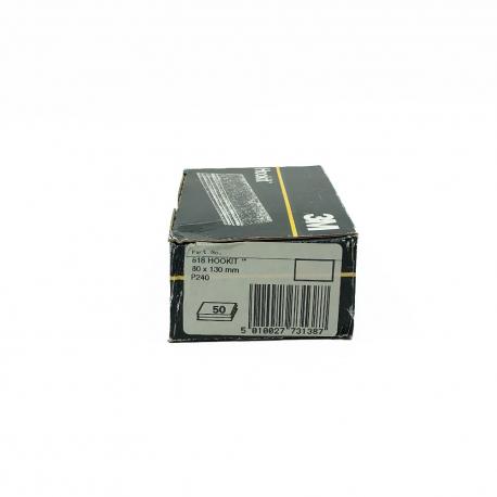 3M™ 618 Lackschleifpapier P240 HookIt 80x130 mm