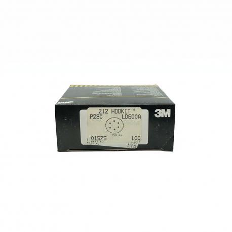 3M 01575 212 dischi HookIt P220 150mm 6 fori
