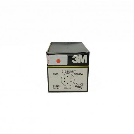 3M 01379 212 disque StickIt P360 150mm 6 trous