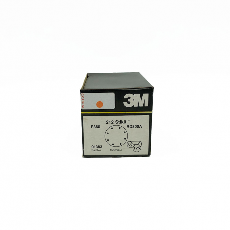 3M 01379 212 StickIt disc P360 150mm 8 holes