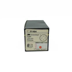 3M 01484 618 dischi StickIt P280 150mm 6 trous