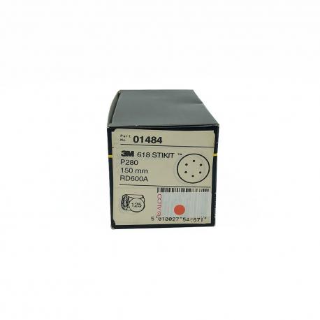 3M 01484 618 disque StickIt P280 150mm 6 trous