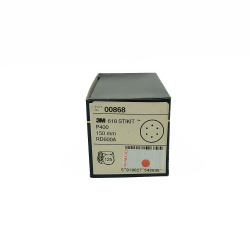 3M 00868 618 dischi StickIt P400 150mm 6 trous