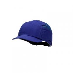 Casquette antiheurt 3M™ First Base™ + Bleu roi Visière réduite 55 mm