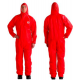 3M™ 4515 Protective Suit, red