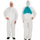 Combinaison de protection 3M™ 4520, couleur blanc/vert