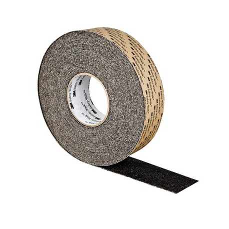 3M™ Safety-Walk™ Revêtement antidérapant gros grain noir 102mm x 18.3m