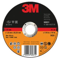 3M™ 60832 Disque INOX A46 125x1.6x22mm T41