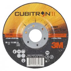3M™ 65514 Cubitron™ II P36+ 125x7x22mm T27