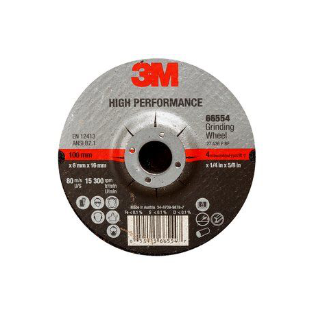 3M™ 65505 High Performance A36 115x7x22mm T27