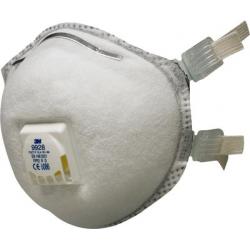 3M™ 9928 - FFP2 Masque antipoussière avec soupape Coolflow™ 10 pce/box