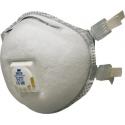 3M™ 9928 - FFP2 Antistaubmaske mit Ventil ™ Coolflow 10 pce/box
