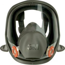 3M™ 6800 maschera completa di gomma silicone, manutenzione limitata - media