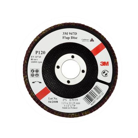 3M™ 67006 Cubitron™ 947D P60 115x22mm contrecoudé