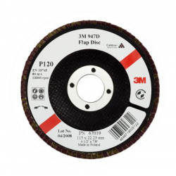 3M™ 947D 67012 Cubitron™ P80 gekröpften 125x22mm