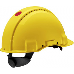 3M™ PELTOR™ G3000 UVICATOR SENSOR CASQUE DE PROTECTION JAUNE