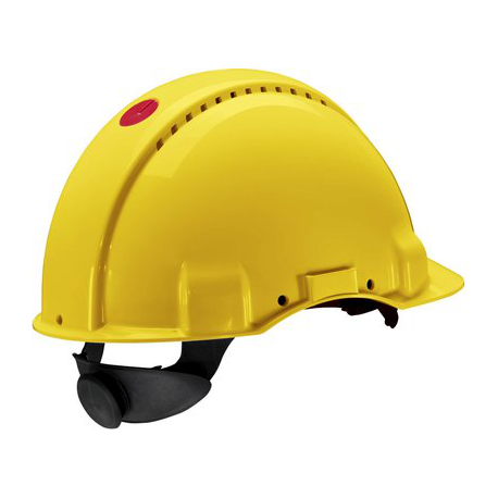 3M™ PELTOR™ G3000 UVICATOR SENSOR PROTECTION HELMET YELLOW