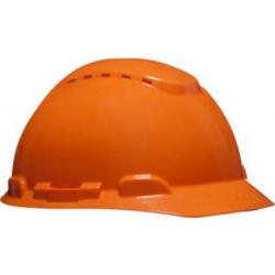 3M ™ H700C-OR Orange Sicherheit Helm belüftet