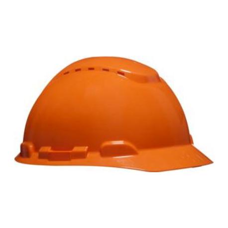 3M™ H700C-OR Casco di sicurezza arancione ventilato