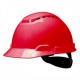 3M™ H700N-RD Safety Helmet red ventilated