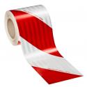 3M™ 3410 High Intensity prismatico retroriflettente teli bianco/rosso
