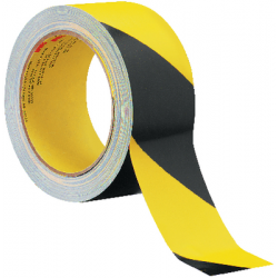 3M™ 5702 vinyl tape Yellow/Black 50mm x 33m